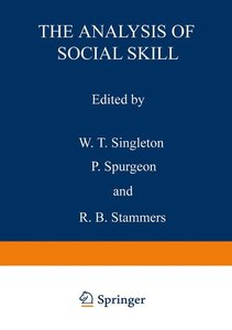 The Analysis of Social Skill