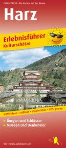 Erlebnisführer Harz - Kulturschätze 1 : 140 000
