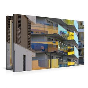 Premium Textil-Leinwand 90 cm x 60 cm quer Residence Koh-I-Noor