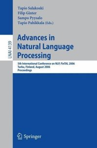 Advances in Natural Language Processing