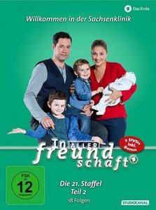In aller Freundschaft. Staffel.21.2, 5 DVDs