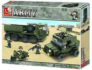 Sluban ARMY M38-B0307 - Nachschubkonvoi, 455 Teile