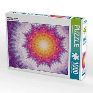 lemurian crystal 1000 Teile Puzzle quer