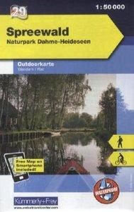 KuF Deutschland Outdoorkarte 29 Spreewald 1 : 50.000