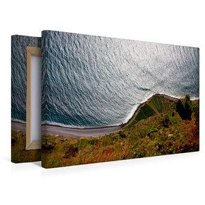 Premium Textil-Leinwand 45 cm x 30 cm quer Cabo Girão