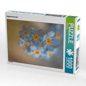 CALVENDO Puzzle Vergissmeinnicht 1000 Teile Lege-Größe 48 x 64 c