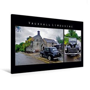 Premium Textil-Leinwand 120 cm x 80 cm quer Vauxhall Limousine,