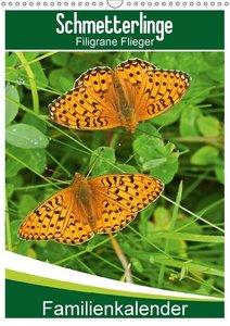 Schmetterlinge: Filigrane Flieger / Familienkalender
