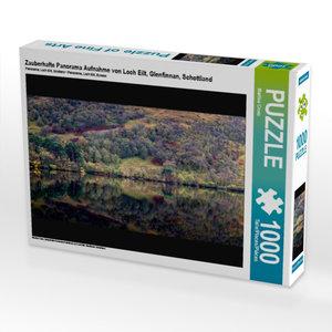Zauberhafte Panorama Aufnahme von Loch Eilt, Glenfinnan, Schottl