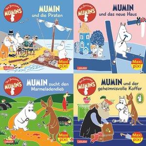Maxi-Pixi-Serie Nr. 58: 4er Bundle: Die Mumins