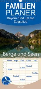 Berge und Seen rund um die Zugspitze - Familienplaner hoch (Wand