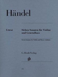 7 Sonaten für Violine und Generalbass