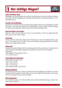 Praxisratgeber Klassikerkauf: VW Käfer