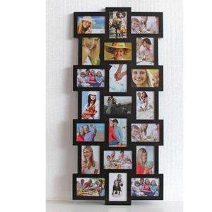 Bilderrahmen Collage XL schwarz
