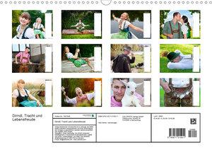 Dirndl, Tracht und Lebensfreude (Wandkalender 2020 DIN A3 quer)
