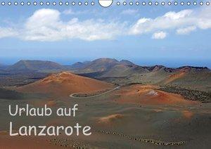 Urlaub auf Lanzarote (Wandkalender 2016 DIN A4 quer)