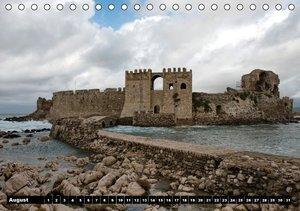 Greek views / UK-version (Table Calendar perpetual DIN A5 Landsc