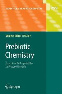 Prebiotic Chemistry