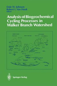 Analysis of Biogeochemical Cycling Processes in Walker Branch Wa