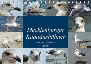 Mecklenburger Kapitänshühner (Tischkalender 2019 DIN A5 quer)