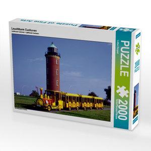 Leuchtturm Cuxhaven 2000 Teile Puzzle quer