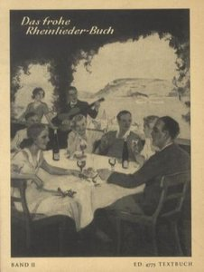 Das frohe Rheinlieder-Buch