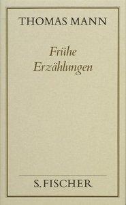 Frühe Erzählungen ( Frankfurter Ausgabe)