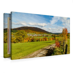 Premium Textil-Leinwand 75 cm x 50 cm quer Bundesgolddorf Grafsc