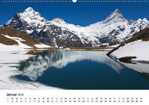 BERGSEEN Schweizer Alpen (Wandkalender 2019 DIN A2 quer)
