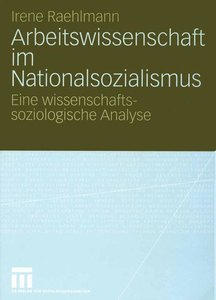 Arbeitswissenschaft im Nationalsozialismus