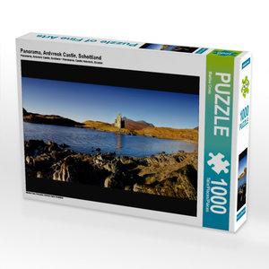 Panorama, Ardvreck Castle, Schottland 1000 Teile Puzzle quer