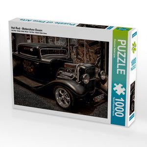 Hot Rod - Motorshow Essen 1000 Teile Puzzle quer