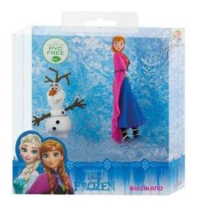 Spielfigurenset - Walt Disney Die Eiskönigin, Anna und Olaf