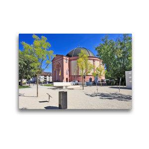 Premium Textil-Leinwand 45 cm x 30 cm quer Ludwigskirche