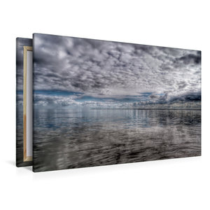 Premium Textil-Leinwand 120 cm x 80 cm quer Wolkenspiel