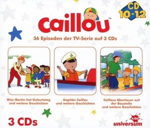 Caillou Hörspielbox 4 (CD 10-12)
