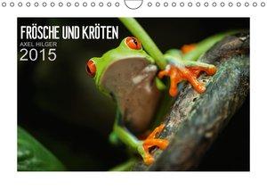 Frösche und Kröten (Wandkalender immerwährend DIN A4 quer)