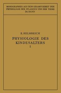 Physiologie des Kindesalters