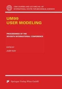 UM99 User Modeling
