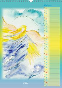 Engelhafte Lichtbegleiter (Wandkalender 2019 DIN A3 hoch)