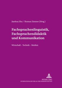 Fachsprachenlinguistik, Fachsprachendidaktik und interkulturelle
