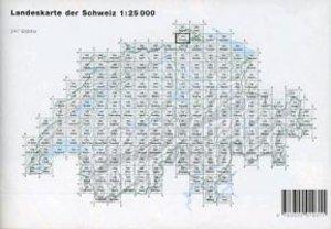 Swisstopo 1 : 25 000 Neunkirch