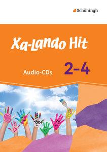 Xa-Lando 2 - 4. Hit - Audio Doppel-CD. Deutschbuch. Ausgabe B. B
