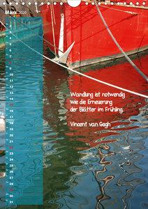 maritim inspiriert / Geburtstagskalender