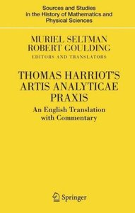 Thomas Harriot's Artis Analyticae Praxis