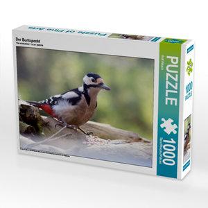 Der Buntspecht 1000 Teile Puzzle quer