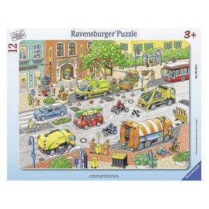 Ravensburger 6135 - Lebendige Stadt, Kinderpuzzle