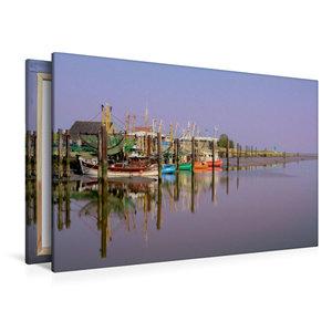 Premium Textil-Leinwand 120 cm x 80 cm quer the RGB Boat
