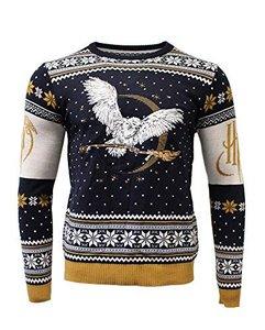 Harry Potter: Hedwig Xmas Pullover, Größe XL, Strickpullover