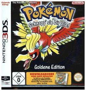 Pokémon Gold, Download-Code für Nintendo 3DS-Spiel